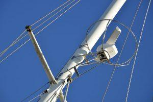 Radar in de mast