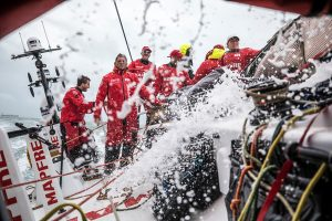 Afkortingen in de Volvo Ocean Race.