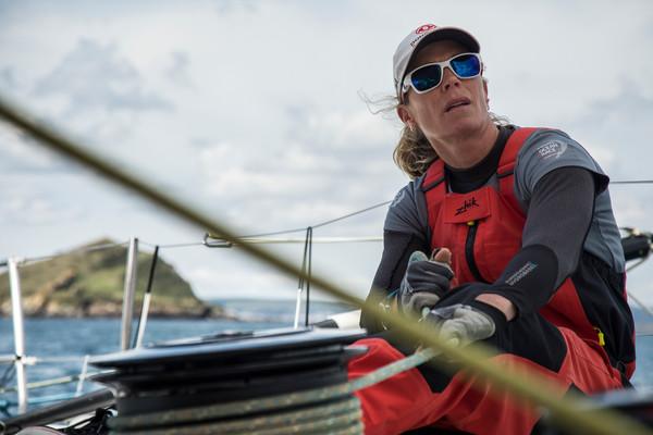 Carolijn Brouwer gekroond tot beste zeilster ter wereld