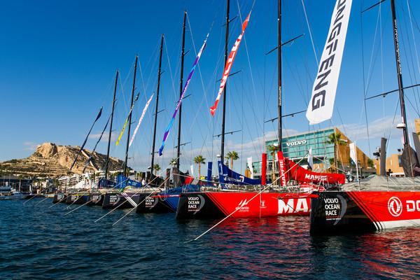 Zeiltaal: afkortingen in de Volvo Ocean Race