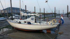 Met Frans Maas bootscouten voor film