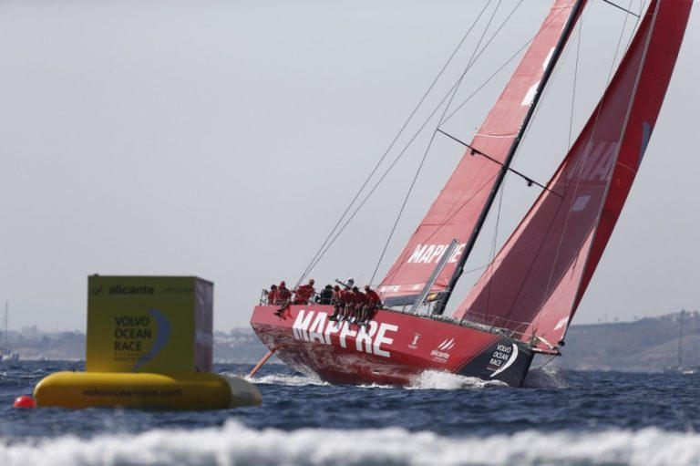 MAPFRE pakt eerste punten Volvo Ocean Race