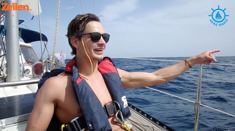SY Anne Marie (S2A15): Zonder ervaring van Gran Canaria naar Kaapverdië