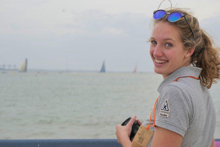 Zeilen live bij de Volvo Ocean Race in Lissabon