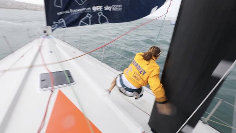 Pijnlijke In-Port Race voor voordekkers