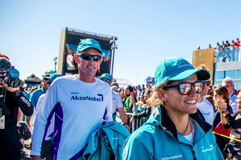 "Peter van Niekerk: ""Leuke lui, mooie boot, goede race"""