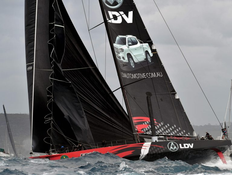 Podiumwissel door protest in Sydney to Hobart Yacht Race