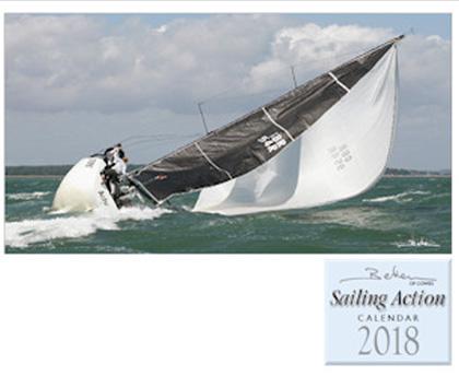 Beken of Cowes Sailing Action 2018 kalender