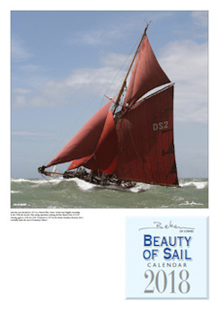 Beken of Cowes Beauty of sail 2018 kalender