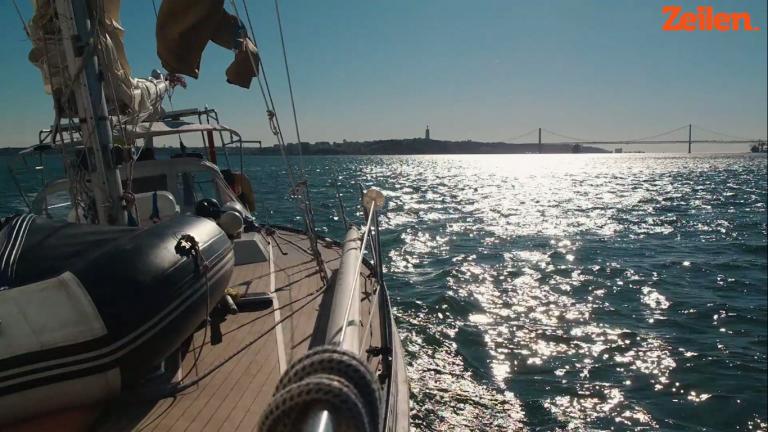 Sailing Shalom – 9. Langs Porto en Lissabon