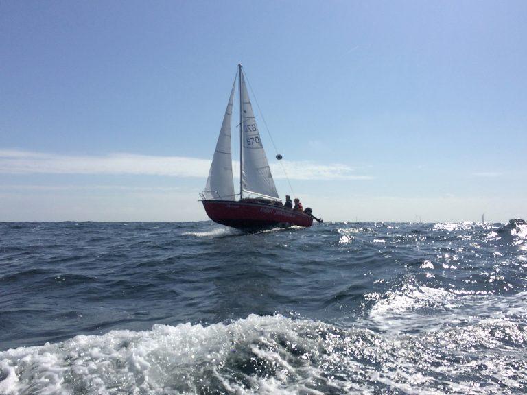 Small Ships Race naar Pin Mill