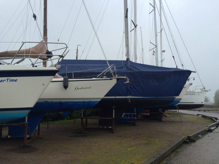 Storm! Ligt je boot goed vast?
