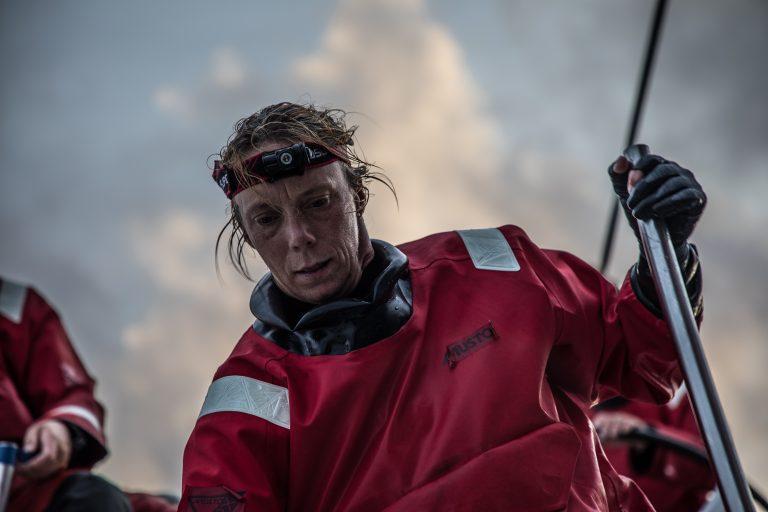 Annemieke Bes eerste Nederlander met etappewinst!