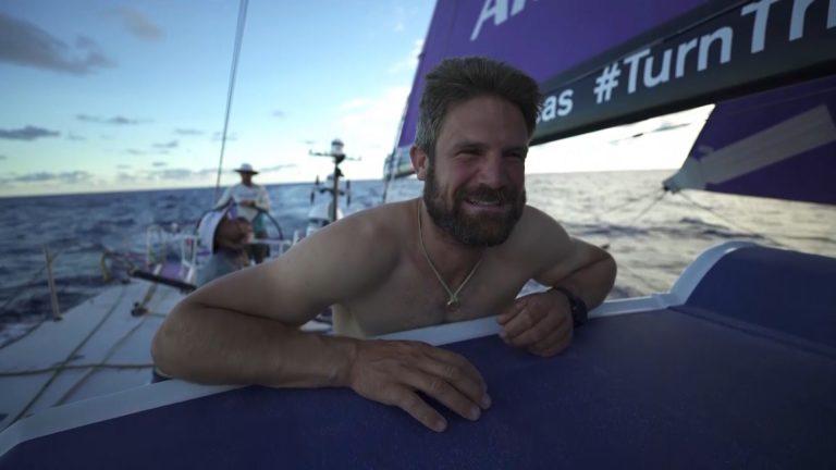 Poepen in de Volvo Ocean Race