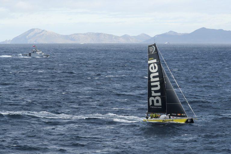 Team Brunel als eerste rond Kaap Hoorn