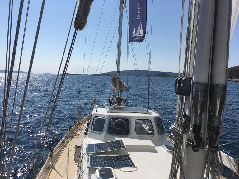 Energie van de Spaanse zon -Sailors for Sustainability vertelt hoe