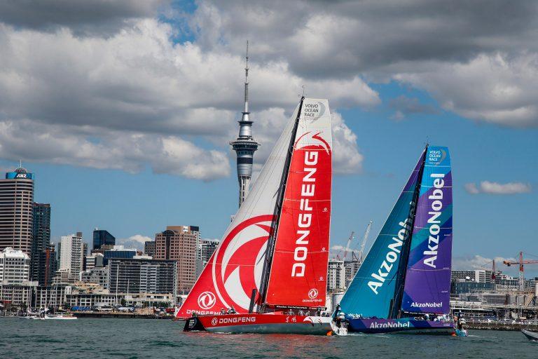 Dongfeng wint havenrace in Auckland, AkzoNobel tweede