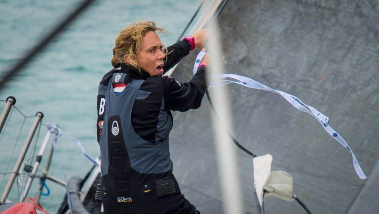 Annemieke Bes over dramatische etappe