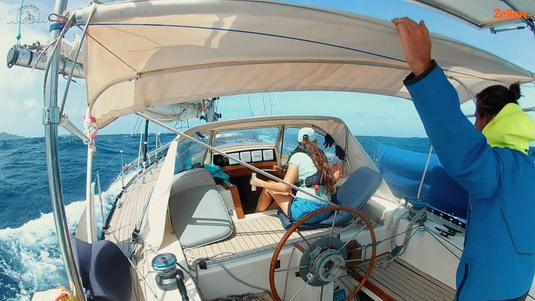 Sailing Shalom – 23. Zeeziekte onderweg naar Tobago