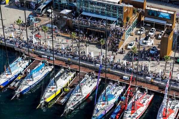 Kom naar de finish van de Volvo Ocean Race in Den Haag