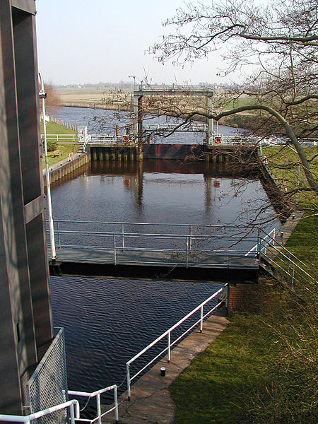 Elbe-Weser-scheepvaartroute later dit jaar gestremd