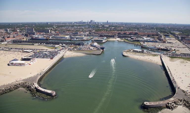 Haven Scheveningen gesloten van 15 juni t/m 28 juli