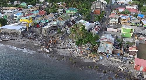Sailing Shalom: Verwoesting op Dominica maakt indruk