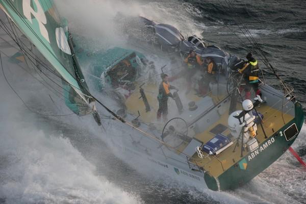 Hans Horrevoets komt 12 jaar geleden om in de Volvo Ocean Race