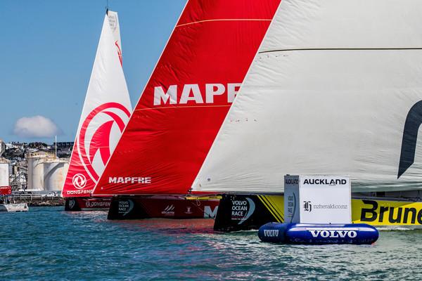 Zo kom je met de boot naar de finish van de Volvo Ocean Race
