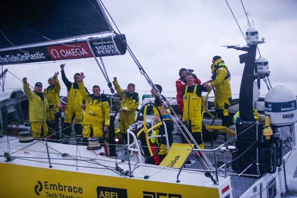 Team Brunel finisht als eerste in Göteborg