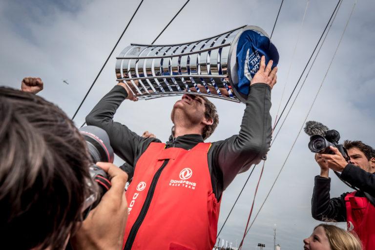 Zo voelt het om de Volvo Ocean Race te winnen