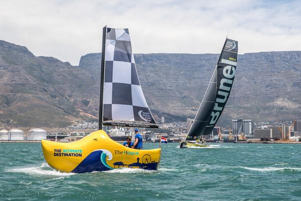 Volvo Ocean Race: zó mis je niets van de finish in Den Haag