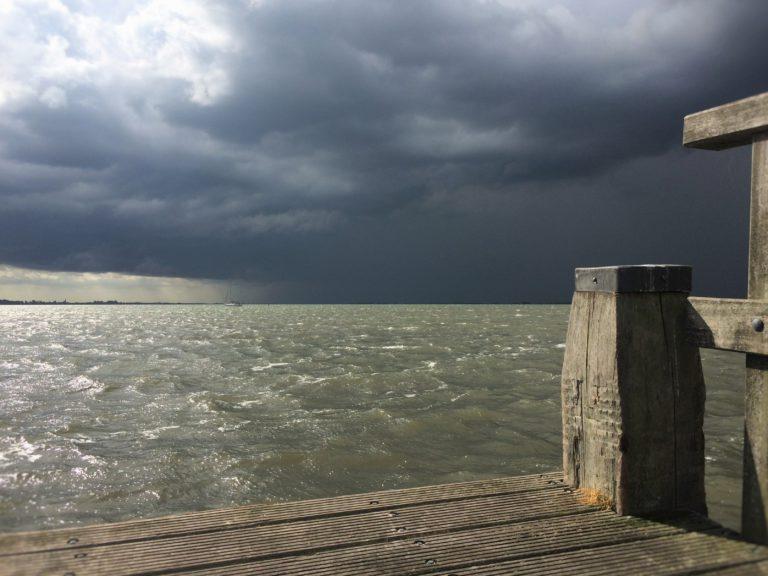De zomerstorm in beeld
