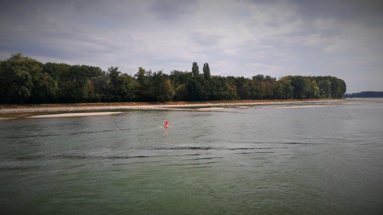 Rijn bereikt laagste waterstand ooit
