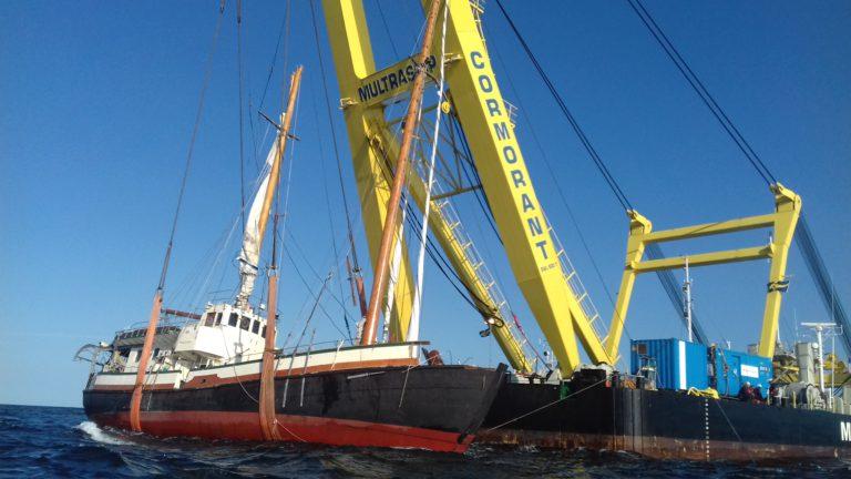 "Berger Leendert Muller: ""Triest dat dit zo'n mooi klassiek schip overkomt"""
