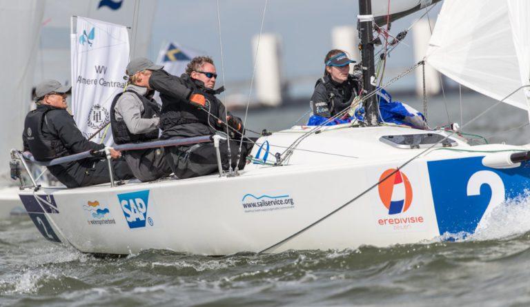Almere Centraal wint 'HISWA-editie' Eredivisie Zeilen
