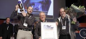 Van klappersensor tot opblaasantenne: DAME Design Awards 2018
