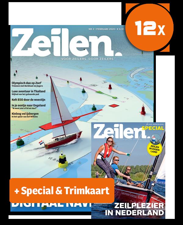 HISWA aanbieding: 12x Zeilen + Digitaal lezen + Trimkaart