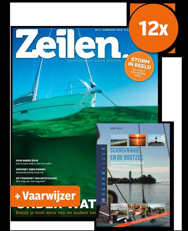 12 x Zeilen + Digitaal lezen en Vaarwijzer Scandinavië