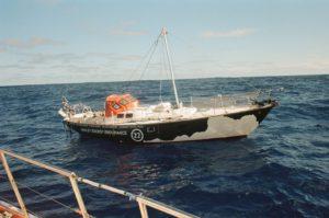 Interesse in een gratis boot inclusief een vat whiskey?