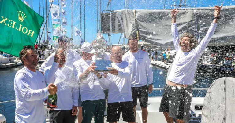 Wouter Verbraak wint Sydney-Hobart met Alive