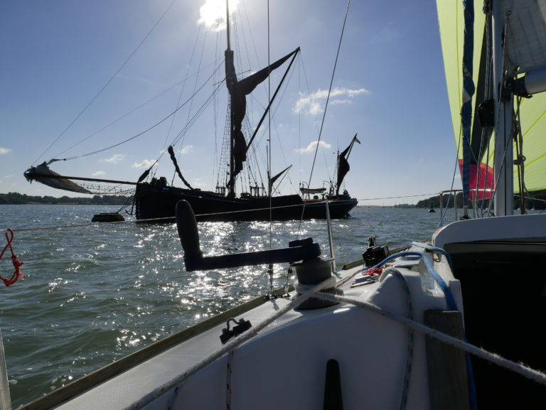 Small Ships Race 2019: Lowestoft én Pin Mill
