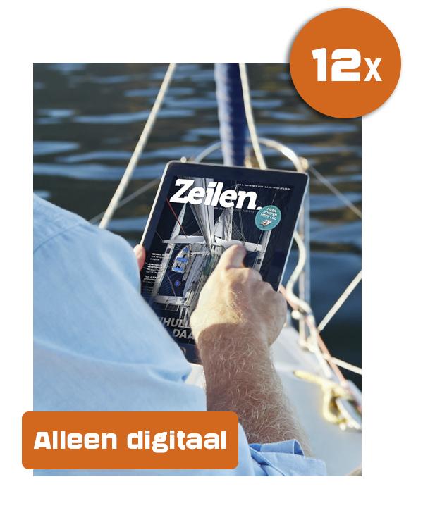 Digitaal abonnement aanbieding: 12 x Zeilen