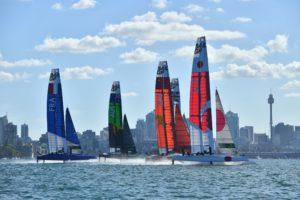 SailGP: Formule 1 van het zeilen van start