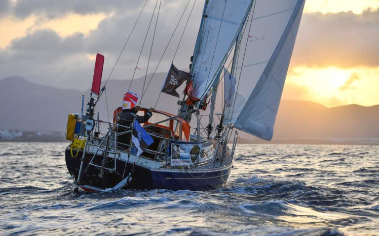 Einde van de Golden Globe Race in zicht voor Uku Randmaa