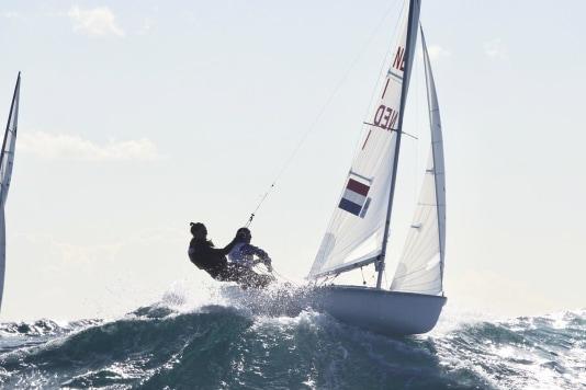 470-duo Mulder en Van Veen op weg naar Olympische Spelen
