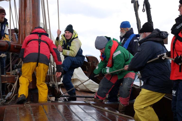 'Oud' hout op zee: met een Palingaak naar Londen