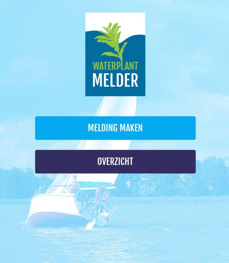 Heb jij de Waterplantmelder-app al op je telefoon staan?