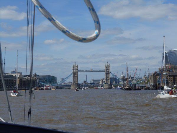 Zeil naar Londen met een Global Challenge-racer