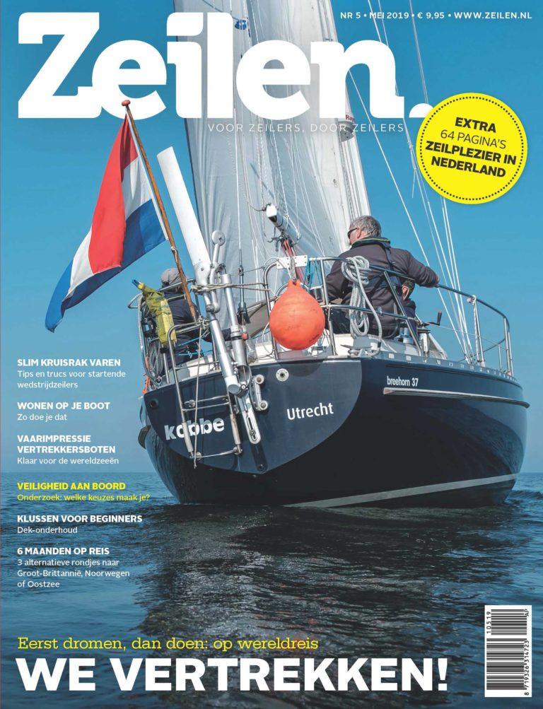 Zeilen 5-2019 met special Zeilplezier in Nederland nu in de winkel